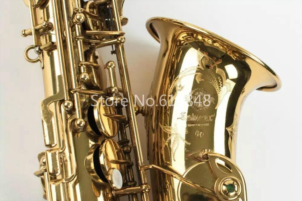 Classique Selma Mark VI Saxophone Alto Eb Musique Instrument de Musique En Laiton Plaqué Or Saxo Avec Étui En Nylon Accessoires Livraison Gratuite