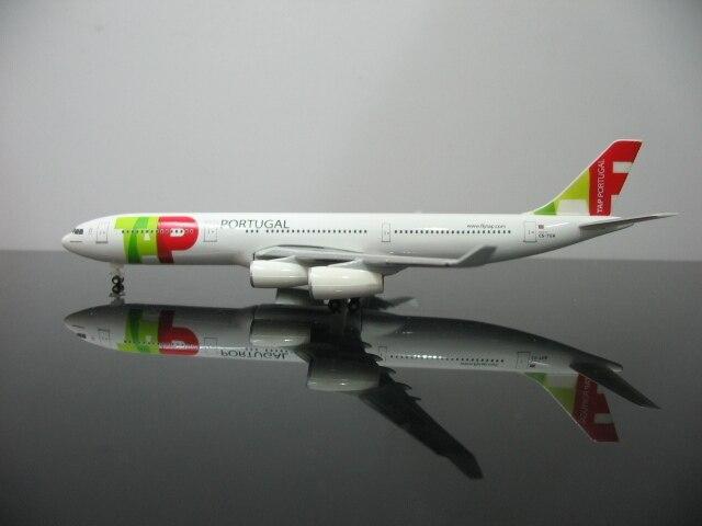 Из печати herpa 1: 500 Air Portugal A340-300 CS-TOA Сплава модели самолетов Избранные Модели