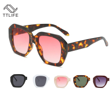TTLIFE Square Retro Sunglasses Men and Women Anti-UV Mirror Fashion Sun Glasses Vintage Shades 2019