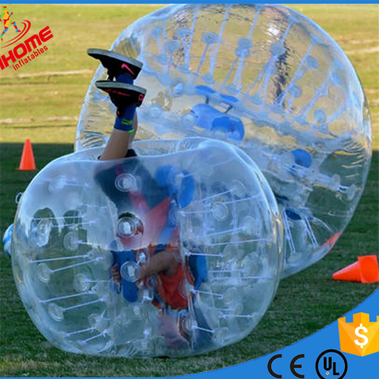 1.5M  PVC inflatable Bubble Soccer bubble zorb ball loopy ball bumper ball inflatable human ball  suit inflatable zorb ball race track pvc go kart racing track for sporting party