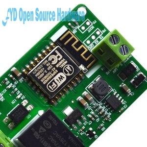 Image 5 - 1 sztuk 1 kanał New Arrival 1 sztuk zielony ESP8266 10A 220V przekaźnik sieciowy moduł WIFI wejście DC 7V ~ 30V 65x40x18mm moduły