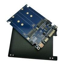"NGFF(M2) SSD на 2,"" SATA адаптер M.2 NGFF SSD на SATA3 адаптер ADPNG301"