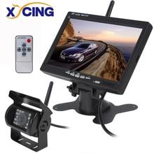 XYCING 7 Inch 800 x 480 Color TFT LCD 2 4GHz Wireless Monitor Wireless 18 IR