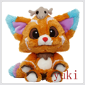 cute Plush dolls world championship Gnar The Missing Link stuffed toys free shipping