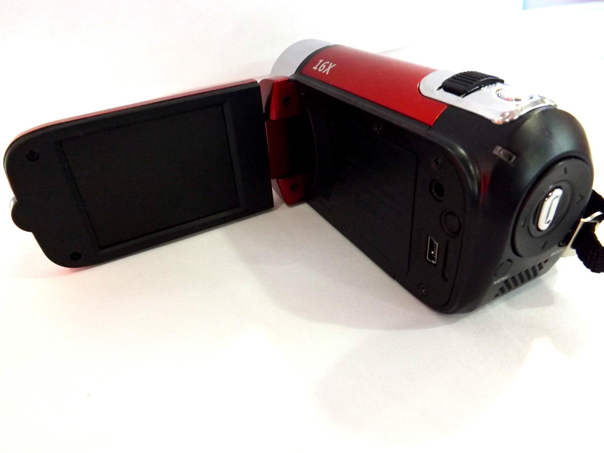 KaRue caméra vidéo numérique HD 1080P 32GB 16x Zoom Mini caméscope DV caméra prise en charge AVI 1080P 720P VGA - 3