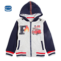 Children clothes baby bot coat with zipper long sleeve cotton pattern fashion letter for kids clothes new arrival