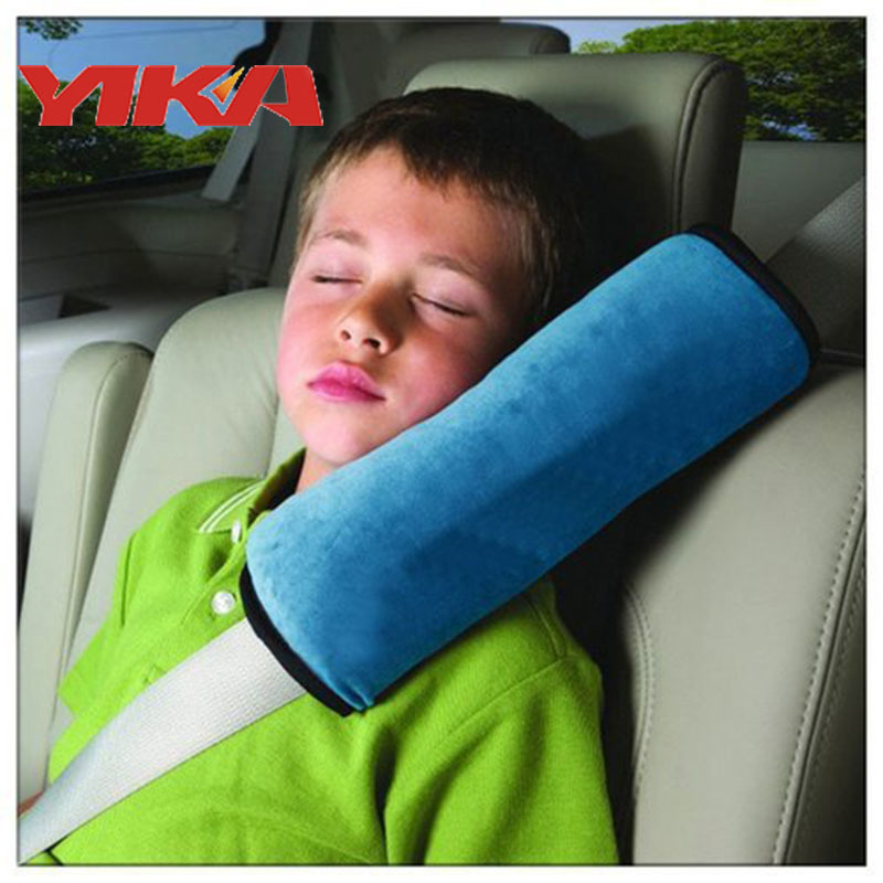 Hot Children Baby Protection Holding Device Cushion Auto Safety Belt Harness Shoulder Pad Cover Support Pillow