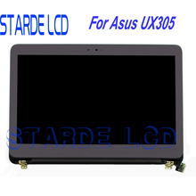 LAPTOP LCD SCREEN FOR ASUS Zenbook UX305 13.3 UX305FA UX305CA Moniter Display Upper Half Set Replacement No Touch Function цена