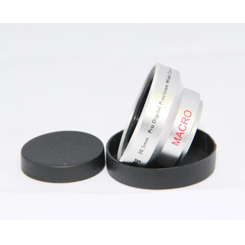 BON CREATION High Quality Wide Angle Conversion Lens 30.5mm 0.45x for Camcorders 30.5 0.45 Silver + Gift lens bag Karachi