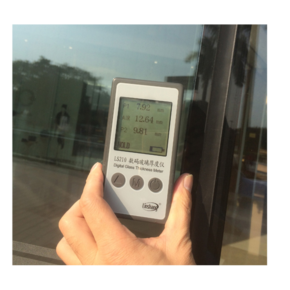 LS210 Digital Glass Thickness Meter User Manual V2 Optical Reflection Principle LCD