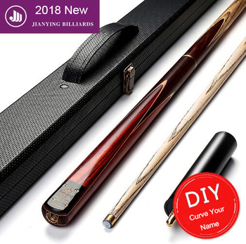 2018 New 3/4 Snooker Cue SD02 Good Handmade 10mm Tip Billiard Cue Kit Stick with Case with Extension Snooker Stick In China