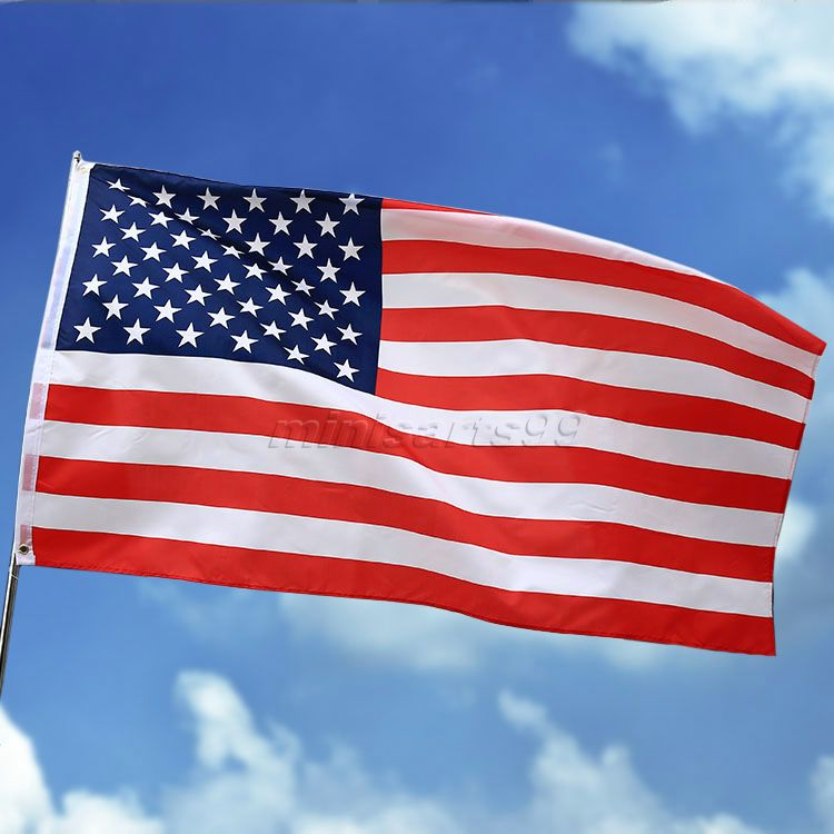 New American Flag Flags of Countries UNITED STATES OF AMERICA US Flags Stripes & Stars USA Polyester Banner Home Car Decorations