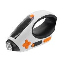 Açık 3 1 Acil Şarj El Marş Güneş USB Şarj Edilebilir LED El Feneri Torch Kamp Lambası Işık FM/AM radyo NG4S