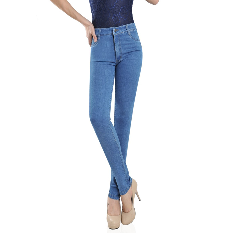 2017 European Appear Stylish Stretch MOM Clothes Women Denim Pants Brand Design China Online Store Leggings