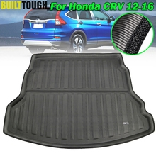 Accessories For Honda CRV CR V CR V 2012   2016 Rear Trunk Cargo Boot Mat Liner Luggage Tray Floor Carpet 2013 2014 2015