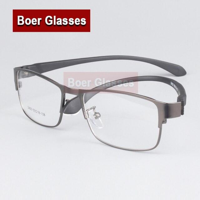 bc86e1c3530494 (1 stks) nieuwe mannen brillen frame optische glazen metalen met tr90 benen volledige  velg