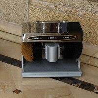 Volautomatische Inductie Thuis Elektrische Wrijven Schoenen Machine Lobby Shaker Rvs Schoen Shine Machine