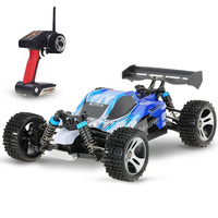 Wltoys A959 Car 1:18 Scale 2.4G 4WD RTR Off Road Buggy High Speed Racing Car Remote Control Truck 4 wheel Climber Free Shipping