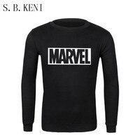 2018 Newest Marvel Printed Hoodies Hip Hop Casual MARVEL Sweatshirt Thin Printing Superman Series Coat COULHUNT