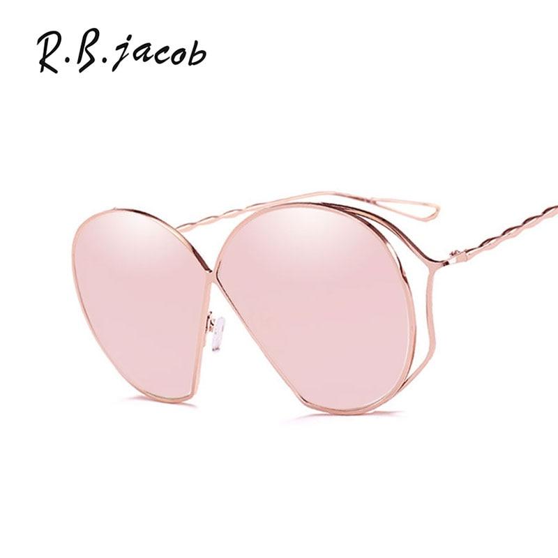 2017 New Irregular Sunglasses Women Luxurious Charm Metal Frame Brand Designer Lady Sun Glasses Hipster UV400 Vintage Accessory