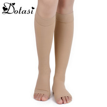 Miracle Socks 20-30mmHg Antifatigue Compression Stockings Soothe Tired Achy Knee Socks Supports Toe Thigh Leg Stocking