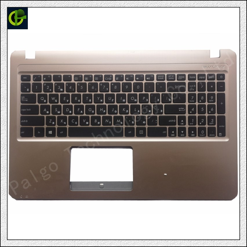 New Russian Keyboard With Palmrest Cover For ASUS X540 X540L X540LA  X544 X540LJ X540S X540SA X540SC R540 R540L Case Box RU
