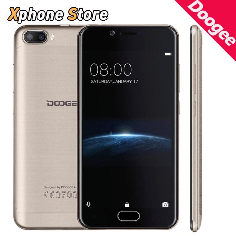 bilder für Ursprüngliche DOOGEE Schießen 2 5,0 zoll Android 7.0 1 GB RAM 8 GB ROM MTK6580A Quad Core 3G WCDMA 3 Kameras Touch Fingerprint-Handy