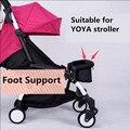 2016 Продвижение Продажа Твердого Металла 0-4 Лет Для Ног Для Yoya Прогулочной Коляски Младенца Расширение Опоры Для Ног 20 см