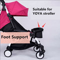 2016 Promotion Sale Solid Metal 0-4 Years Old Footrest For Yoya Stroller Baby Extension Foot Support 20cm