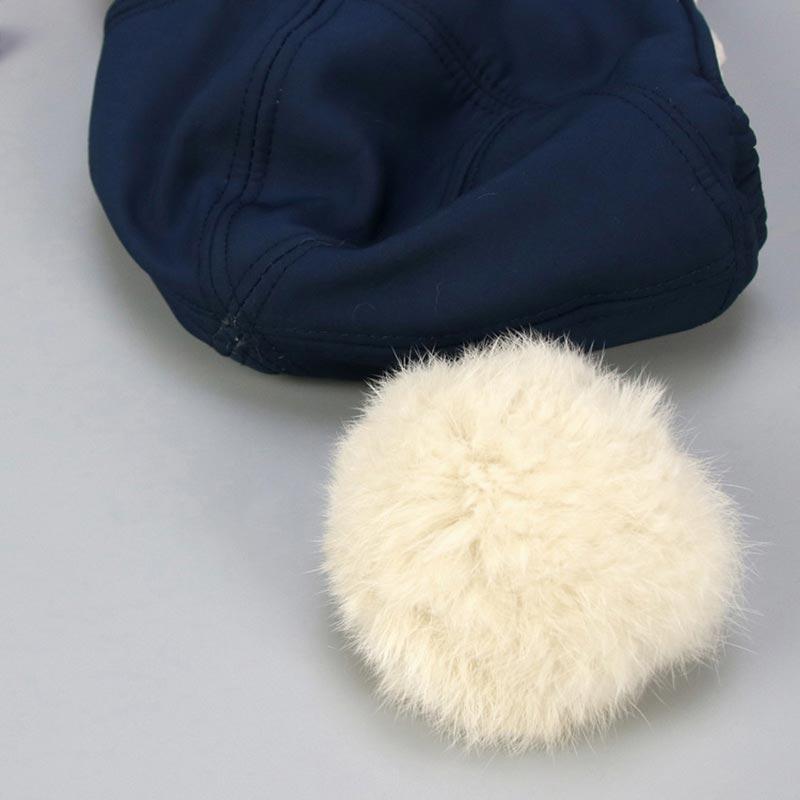 Gorros De Invierno Para Bebe Con Orejeras Cálido Proteccion Del Frio 0-36 Meses