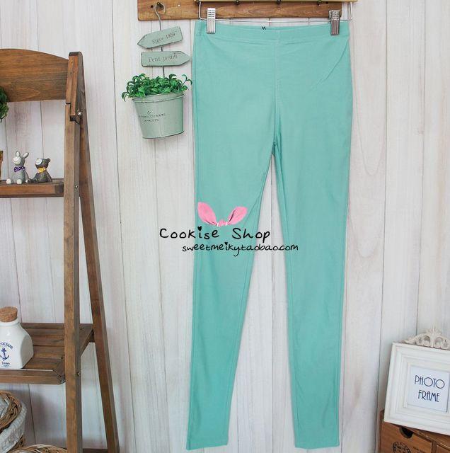 Thin elastic pencil pants legging 7 12