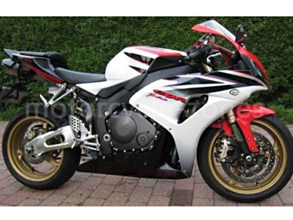Motorcycle Red Black White ABS Plastic Injection Molding Bodywork Fairing Kit For Honda 2006 2007 CBR