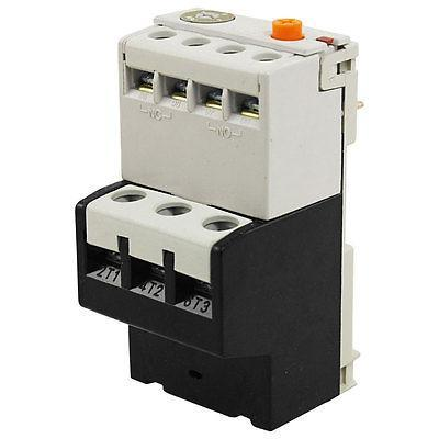 Adjustable Overcurrent Protection Three Phase Thermal Overload Relay LR2-4-6A thermal overload relay 5 2 8a 7 11a 9 13a th n12kp overload protection