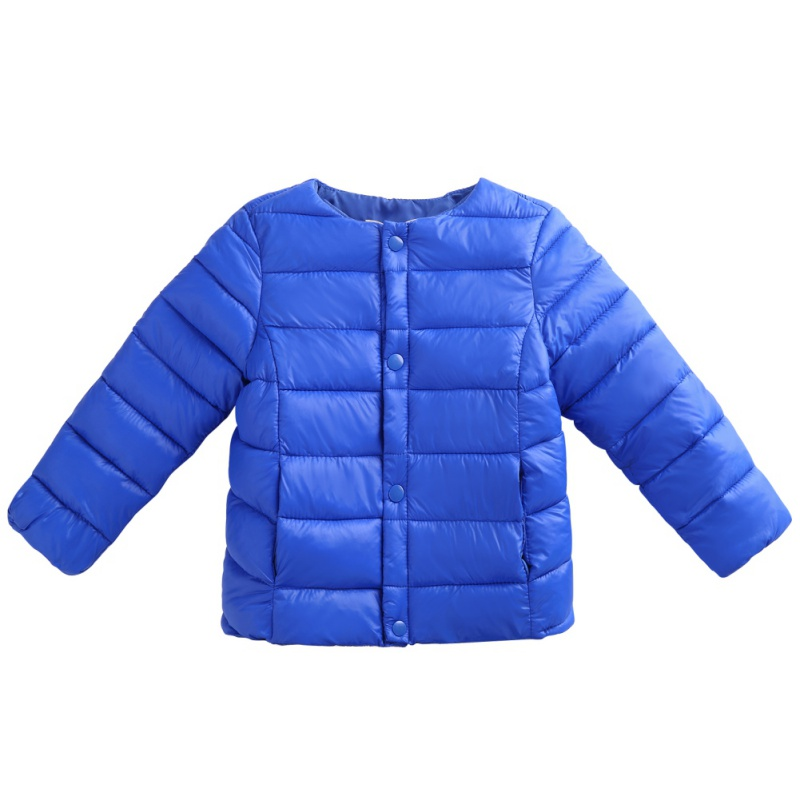 Baby Waterproof Kids Long Sleeve Button Coat Children Winter Down Solid Color Jacket Girls Warm Outerwear Coats Girls 1-6 Years immdos children coat for girl winter wool outerwear kids long sleeve hooded warm baby clothing girls solid fashion jacket