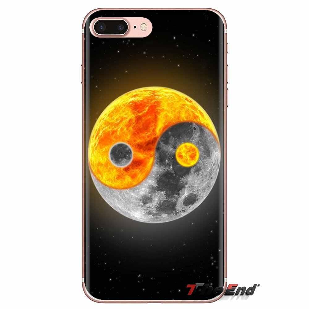 Yin dan Yang China Transparan Lembut Kasus PENUTUP UNTUK Samsung Galaxy J1 J2 J3 J4 J5 J6 J7 J8 PLUS 2018 Perdana 2015 2016 2017