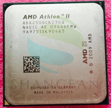 AMD Athlon X2 250 3 GHz Dual-Core CPU Processeur ADX250OCK23GM ADX250OCK23GQ Socket AM3 938pin