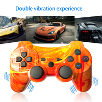 K ISHAKO Wireless Bluetooth Gamepad For PS3 Controller Playstation3 dual shock game Joystick play station 3 console Grand Canyon