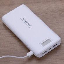 Banco do Poder de Bateria Carregamento para Iphone Original LCD Externa 20000 MAH Portátil Dual USB Powerbank Samsung Smartphone
