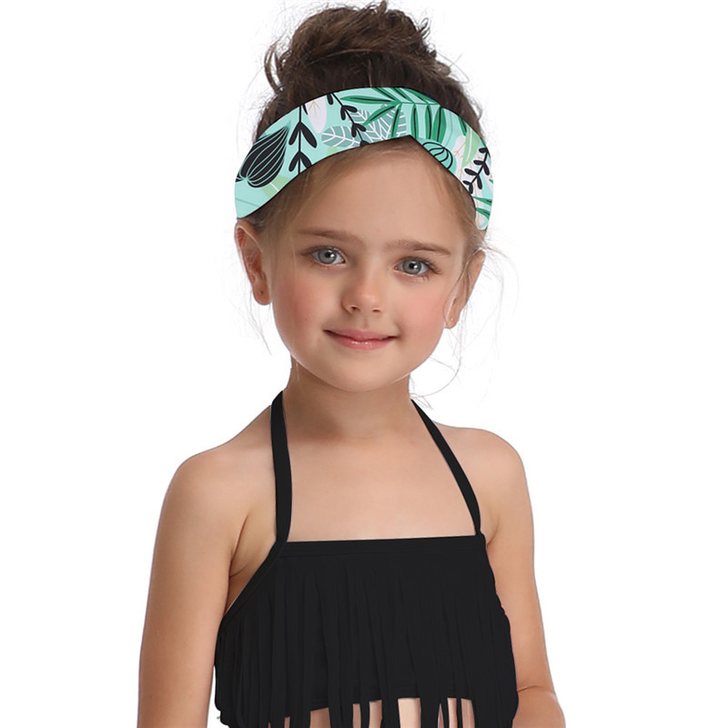 Summer Family Matching Swimwear Mother Daughter Plaid Bikini Bathing Suit Swimwear Family Matching Outfits Kids Mom Swimsuit (4)