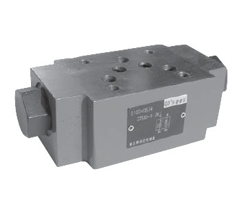 Stacking direction valve Z2S6A-40B/V hydraulic valve check valve