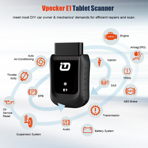 Image 3 - Vpecker E1 Original OBD2 Auto Scanner Mit Tablet über WIFI Full System Auto Diagnose Scanner Motor ABS SRS Automotive Scanner