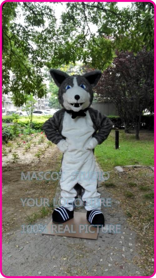 Husky mascotte costume huskie chien personnalisé fantaisie costume anime cosplay kits mascotte déguisement carnaval costume 41253