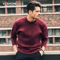 Hot 2015 New High Quality Brands Twist Sweater Knitting Winter Men S O Neck Cotton Sweater
