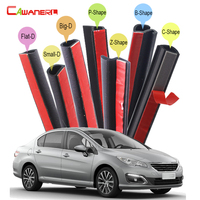 For Peugeot 407 408 508 607 301 Car Accessories Seal Edge Trim Weatherstrip Rubber Sealing Strip