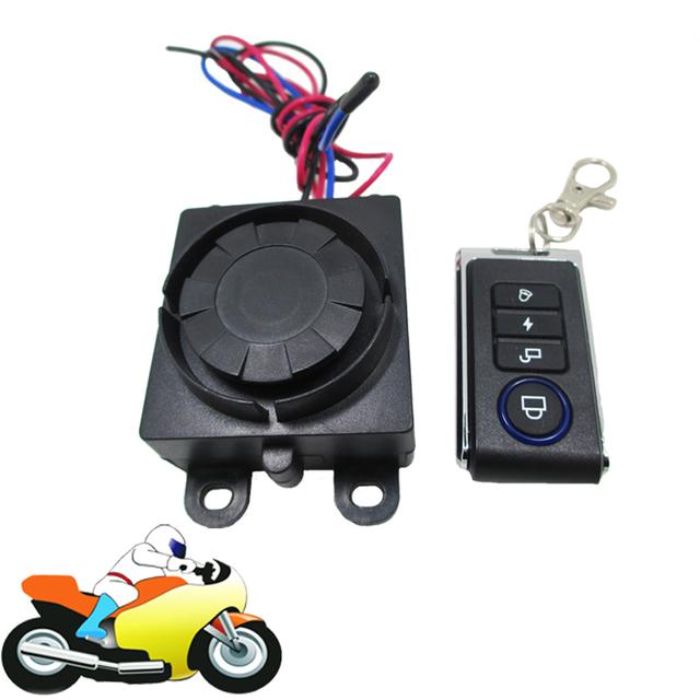 9 - 16 V motocicleta Scooter bicicleta Moto Anti roubo sistema de alarme de segurança de proteção de alarme de controle remoto sem fio