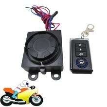 9 – 16 В мотоциклов мопедов сигнализация велосипеда Moto противоугонной охранной сигнализации защита беспроводной пульт дистанционного управления
