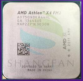 AMD Athlon II X4 65W AD750XOKA44HL 750X X4 750 3.4G Quad-Core FM2 65W Soquete DA CPU
