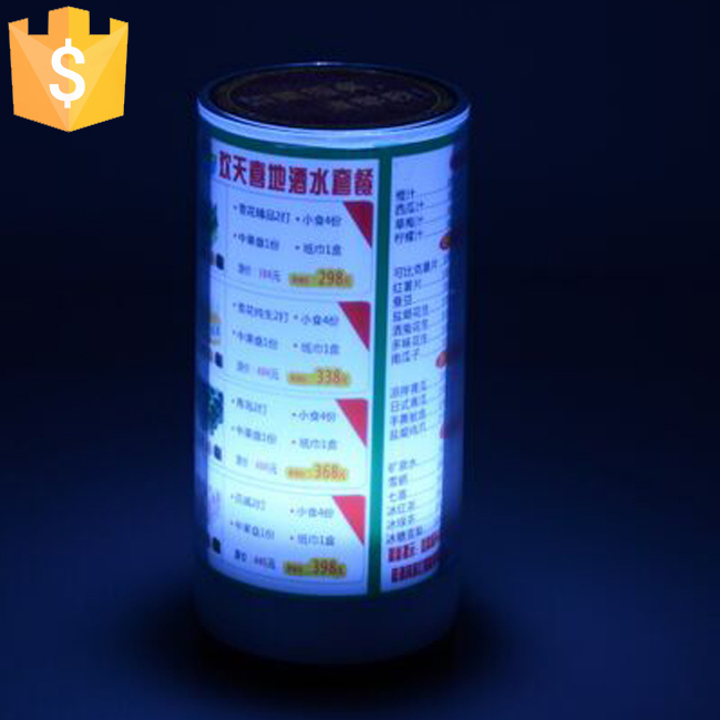 ABS materiāla mirgojoša gaismiņa Galda izvēlne Restorāna kartes - Nakts gaismas - Foto 5