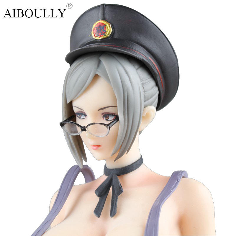 26cm Japanese Anime Oboro Muramasa love doll sexy Action Figure Girl Ver PVC Figure Lady Toy With Gift box Adult toys a toy a dream furyu sonico action figure super sonic swimsuit ver sexy pvc anime figure bikini sexy girl action figure 13cm