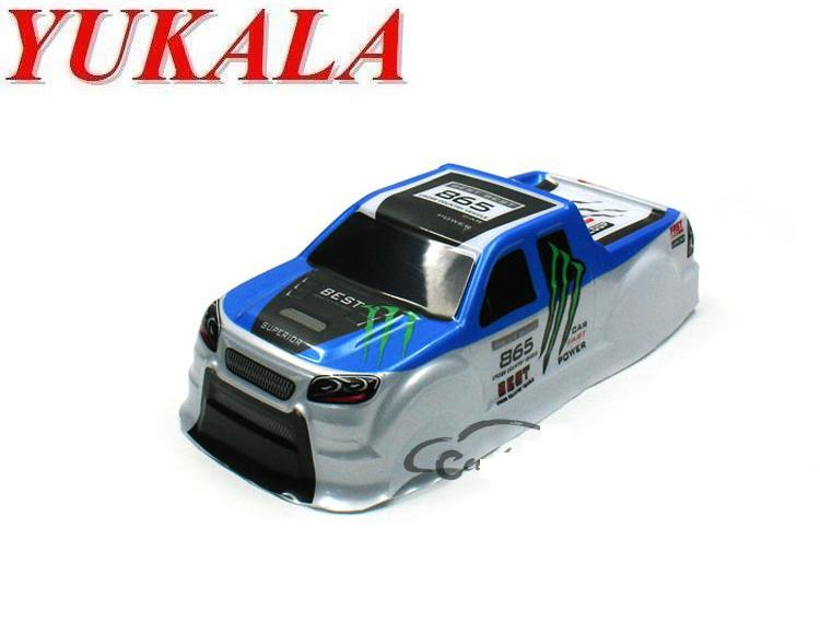 2019 Newest PVC RC Truck Shell Body For 1/18 RC Truck Size 255*110*80mm Wheel Base 155mm